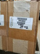 WHIRLPOOL WASHER PUMP PART  W10605427 WASHING MACHINE PUMP NIB