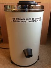 Spin X Portable Dryer Spindryer Model 775 SEC C 8lb Capacity Energy Saver