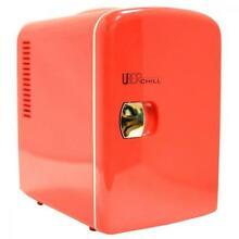 Uber Appliance UB CH1 Chill Mini Fridge 6 can portable thermoelectric cooler