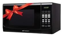 Emerson 0 9 CU  FT  900 Watt  Touch Control  Black Microwave Oven  MW9255B