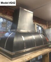 Zinc Hood  Range Hood for La Cornue  Fan Incl  Custom Sizes Avail    Model  242