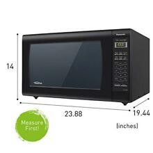 Panasonic Microwave Oven Black Countertop Inverter Technology 2 2 Cu  Ft 1250W