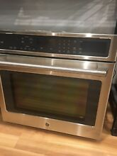 GE Caf  Series 30  Built In Single Convection Wall Oven CT9050SHSS