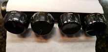 Kitchen Aid Range Oven OEM Surface Burner Knobs 4453911BL 8285604 Full Set NEW
