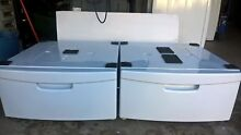 Samsung washer and dryer pedestals  2