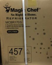 Magic Chef MCBR170S Mini Refrigerator 1 8 CU ft Stainless Steel New SEALED BOX