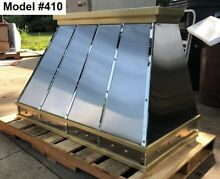Stainless Range Hood  Motor Incl  Custom Sizes Available   Model  410