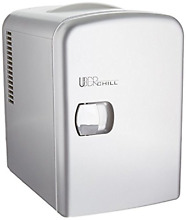 Uber Appliance UB CH1 Uber Chill Mini Fridge 6 can portable Thermoelectric Coole