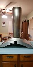 GE Monogram Stainless Steel 36  Wall Mountable Vent Hood ZV750SY4SS