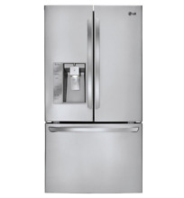 LG LFXS29626S 28 8 cu  ft  Ultra Capacity French Door Refrigerator w  Smart Cool