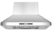 XtremeAir PX07 I48 1600 CFM Easy Clean Baffle Filters  Stainless Steel  Island