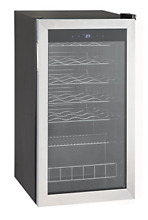 Smad Under Counter Compressor Wine Cooler Quiet Operation  Stainless Steel 28