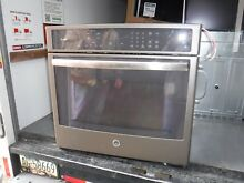GE PT7050EHES 30  Slate Single Electric Wall Oven NOB  30966 HRT