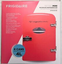 Frigidaire Retro Mini Refrigerator   Red