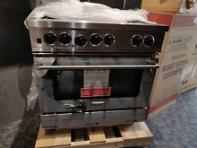 Bluestar RCS36SBV2 36  Stainless Steel Natural Gas Range  Burners