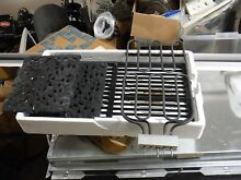 Used Jenn air Range Burner   Grill Grates And Lava Rocks and griddle