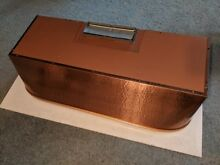 Vtg Trade Wind Co  Copper Color Steel Kitchen Hood Vent Ventilation Fan NOS