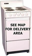 Nice Used 20  220 Volt Electric Ranges Lot of 12 ONLY Free Delivery SELECT AREAS