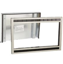 Frigidaire MWTK27KF  27  Stainless Steel Built In Microwave Trim Kit