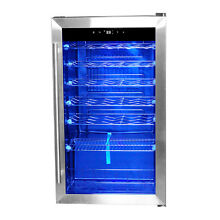 SMAD 35 Bottles Compressor Wine Cooler Freestanding Wine Fridge Kitchen Home Bar