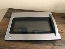 GE Microwave Oven Stainless HVM1750SP2SS Door Complete Assembly With Handle