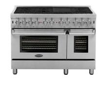 Cosmo DFR486G 48  Dual Fuel Range Stainless Steel Retail 5999