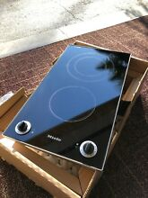 Miele KM400 Ceramic Cooktop double burner Small