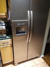 Electrolux ICON     ft  Side by Side Refrigerator