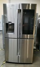 Open Box Samsung  RF28M9580SR 28cu ft  4 Door Flex Refrigerator Stainless Steel
