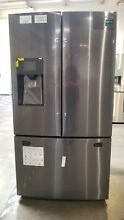 Samsung RF263BEAESG 25 Cu  Ft  French Door Refrigerator Black Stainless Open Box