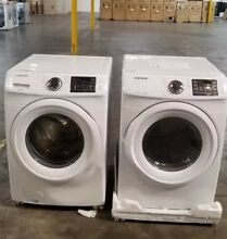 Samsung WF42H5000AW   DV42H5000GW Washer   Dryer Gas Sets  Demo Special