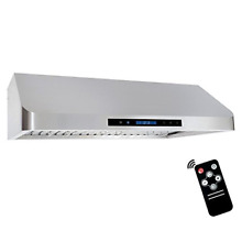 Cosmo QS90 36 in Under Cabinet Range Hood 900 CFM   Ducted   Ductless Duct   LED