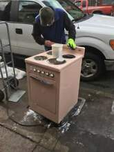 Vintage Classic 50 s Pink Westinghouse oven almost perfect
