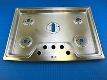 Genuine LG Countertop Gas Oven Cooktop Plate Assembly AGU73729003