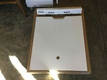 GE DISHWASHER FRONT DOOR PANEL GDF520PGJ5WW  OEM FACTORY PART USED