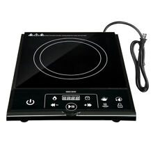 1800W Electric Single Induction Cooker Portable Burner Cooktop Digital Touch