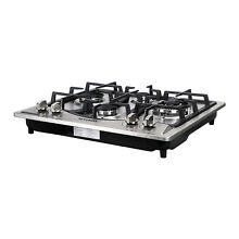 Brand 23  Built in 4 Burners Gas Cooktop Stainless Steel NG LPG Gas Hob Cooker