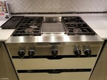 36  KITCHENAID GAS RANGE TOP
