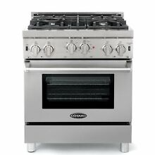 Cosmo COS GRP304 30  Convection Gas Range Stainless Steel Reg 1899