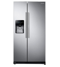 Samsung RH25H5611SR Side by Side Refrigerator in Stainless Steel  Silver
