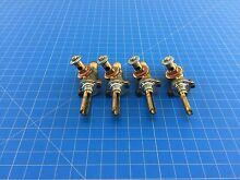 Genuine Whirlpool Range Oven Burner Gas Valve 3196210 3196211 3196212 Set of 4