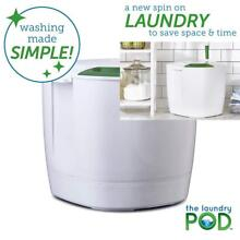 The Laundry POD 6L Portable Washing Machine Uses JUST 1 5TSP Detergent