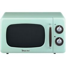 MAGIC CHEF R  MCD770CM Magic Chef R   7 Cubic  ft 700 Watt Retro Microwave  M