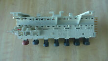 00067842 Selector Switch Assembly With 7 Buttons  Works On Bosch Dishwasher Used