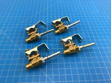 Genuine Whirlpool Range Oven Burner Valve W10160941 W10290838 W10177101 Set of 4