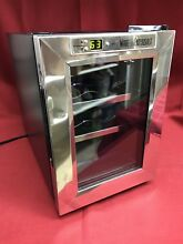 Black Wine Enthusiast 6 Bottle Wine Chiller Mini Cooler Fridge Champagne Beer