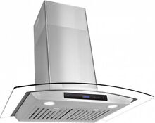Cosmo 668AS750 30 in Wall Mount Range Hood   Ducted   Ductless Convertible Duct