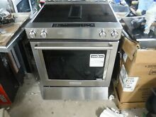 KitchenAid KSEG950ESS downdf 30  Stainless Slide In Electric Range  New Open Box