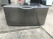 Samsung washer dryer pedestal stainless