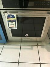 New Open Box Kitchenaid 27  Single Wall Oven   kost107ess